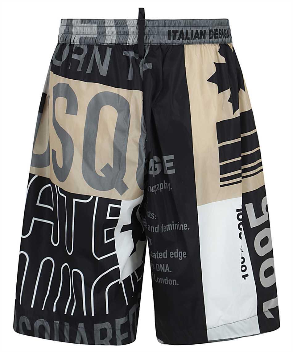 Dsquared2 S74MU0632 S53720 NYLON ULTIMATE PATCHWORK Shorts 2
