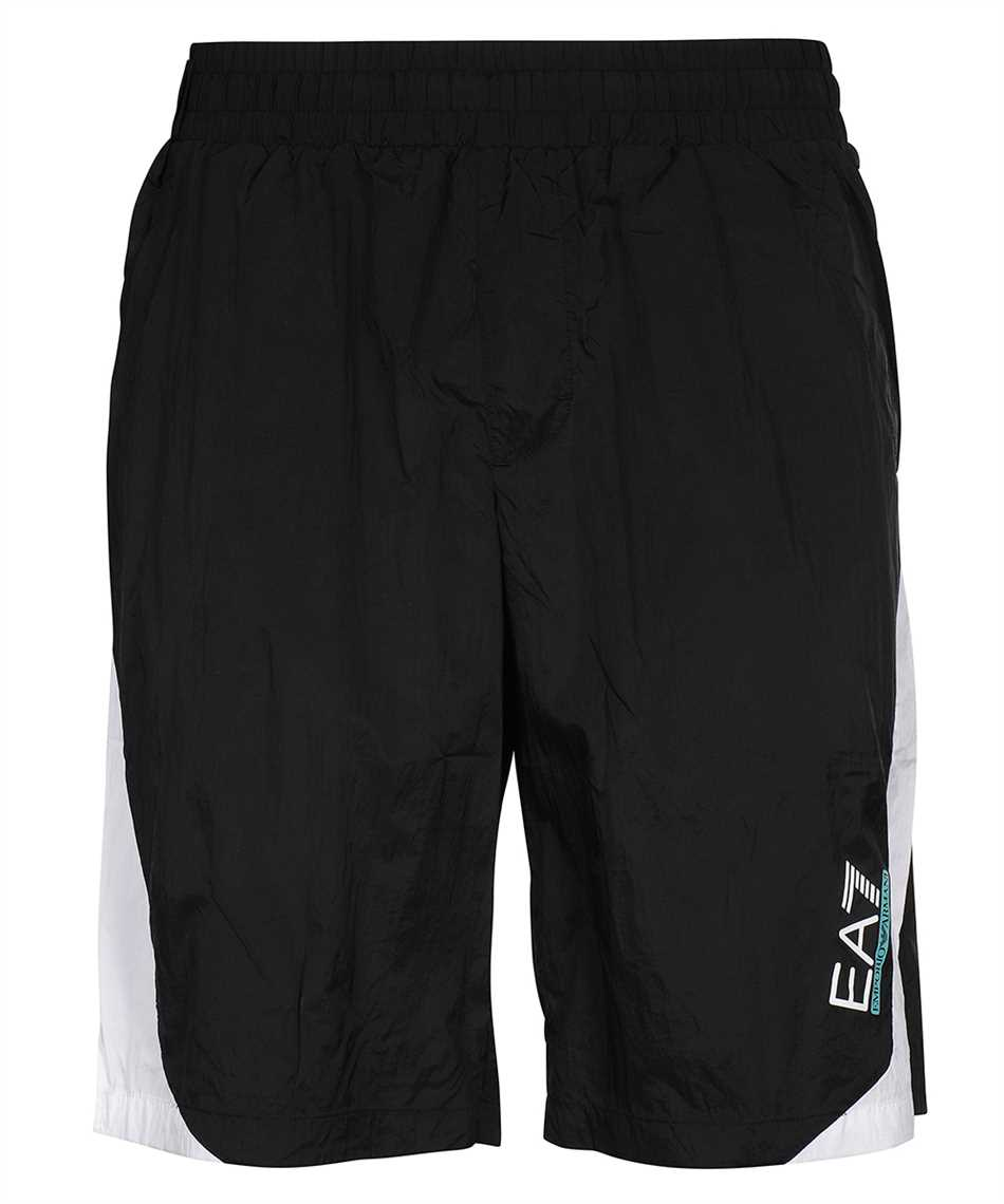 EA7 3KPS06 PN84Z JERSEY FLEECE Shorts 1