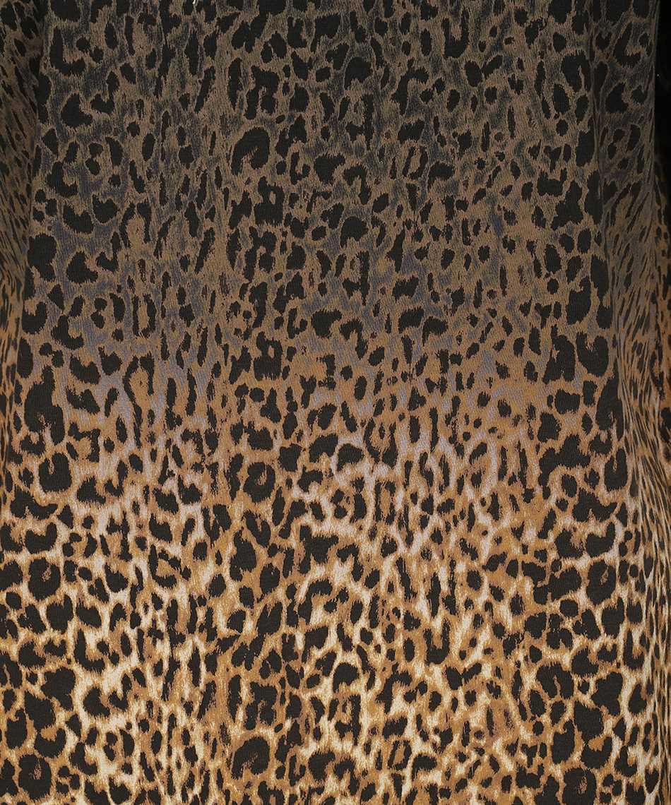 Saint Laurent 653937 Y36DD TIE-DYE LEOPARD-PRINT T-shirt 3