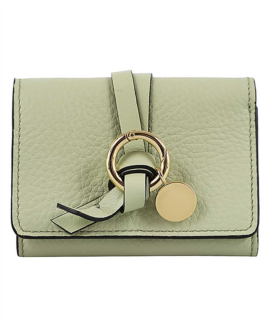 Chloé CHC17UP719H9Q ALPHABET MINI TRI-FOLD Wallet 1