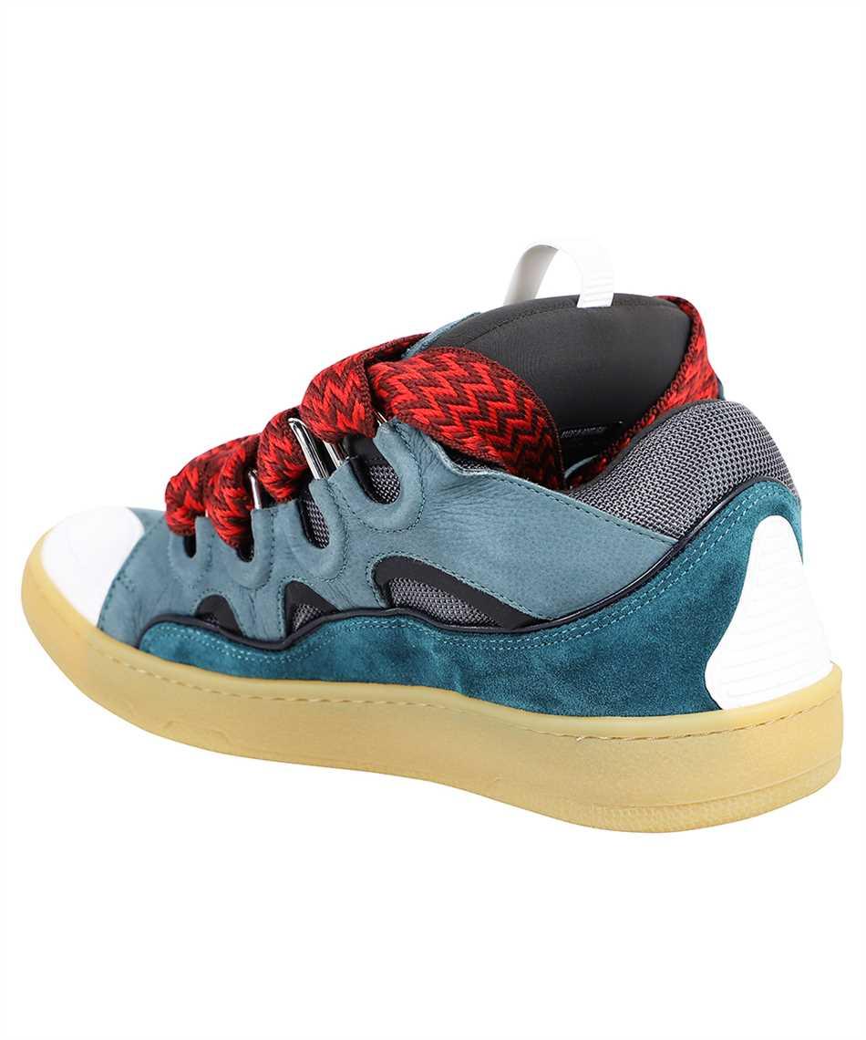 Lanvin FM SKRK11 DRAG A20 LEATHER CURB Sneakers 3