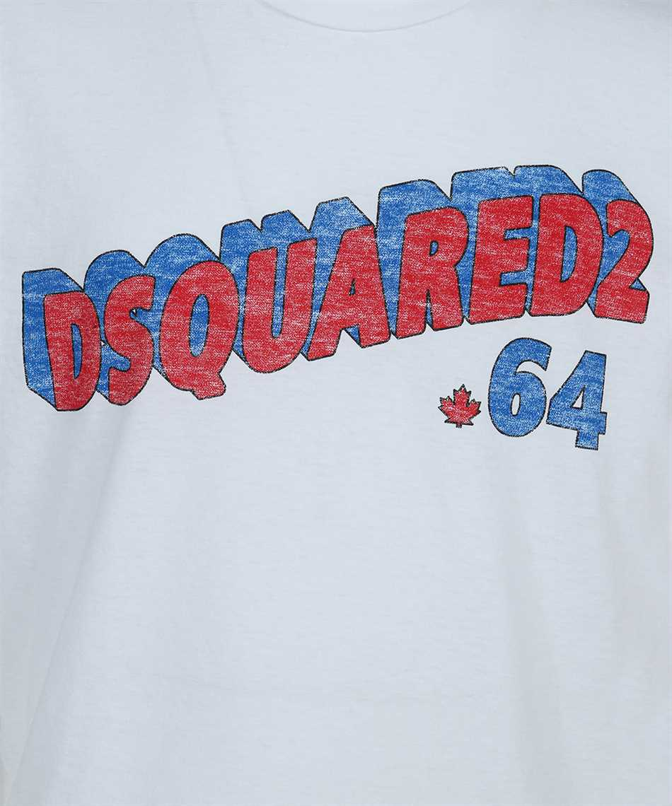 Dsquared2 S71GD1048 S22507 RETRO 64 T-shirt 3