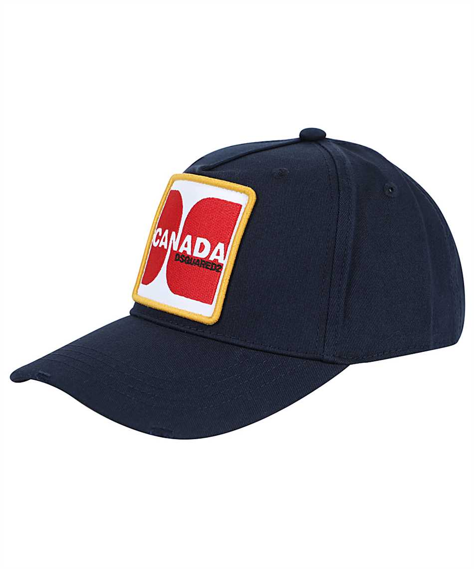 Dsquared2 BCM0415 05C00001 CANADA PATCH Cap 1