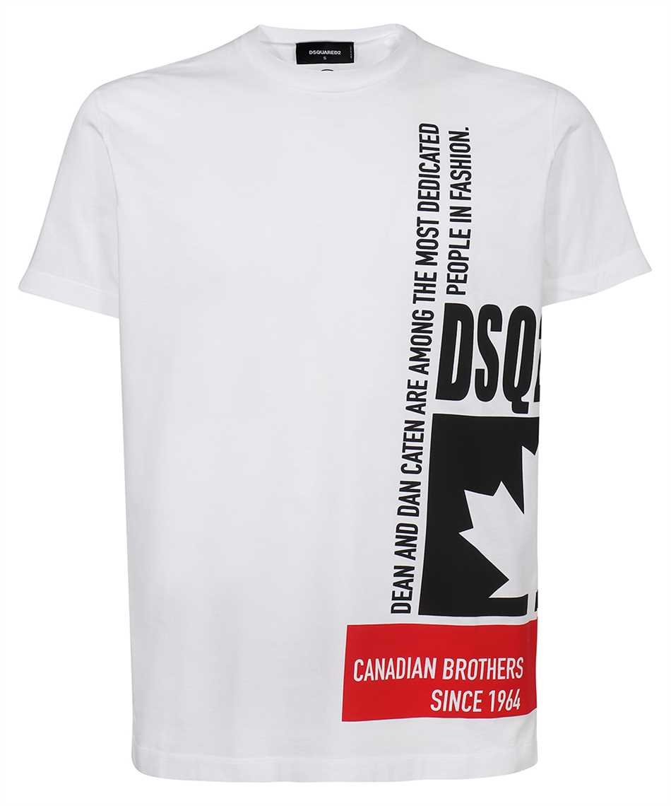 Dsquared2 S71GD1024 S23009 LEAF T-shirt 1