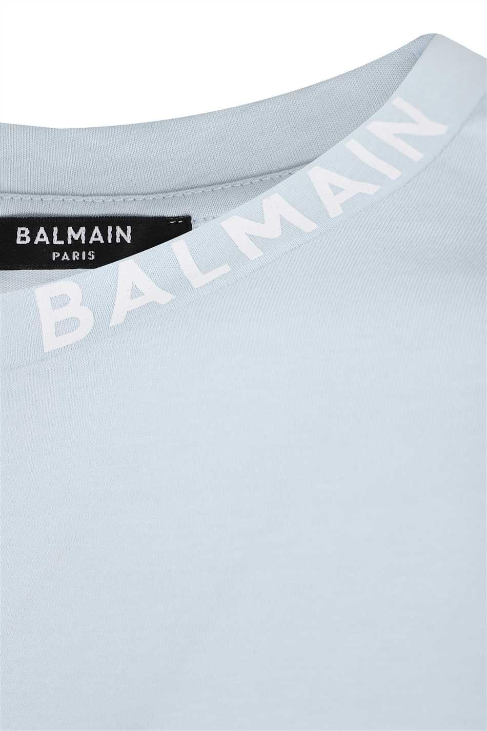 Balmain WH1EF006B129 PRINTED COLLAR T-shirt 3