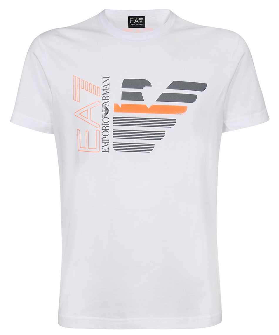 EA7 3KPT22 PJ6EZ EAGLE AND LOGO T-shirt 1