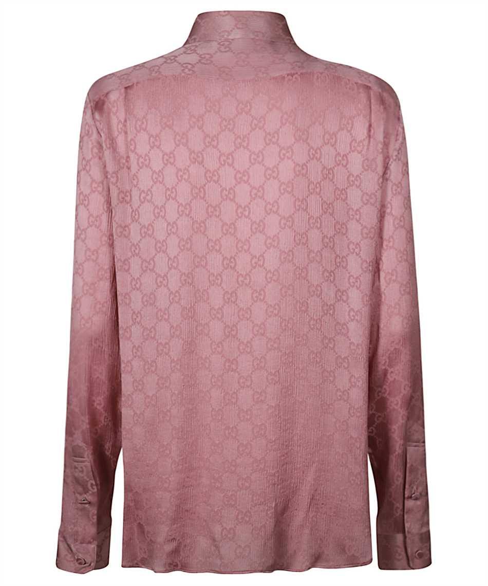 Gucci 627773 ZAEJF GG CREPE Shirt 2