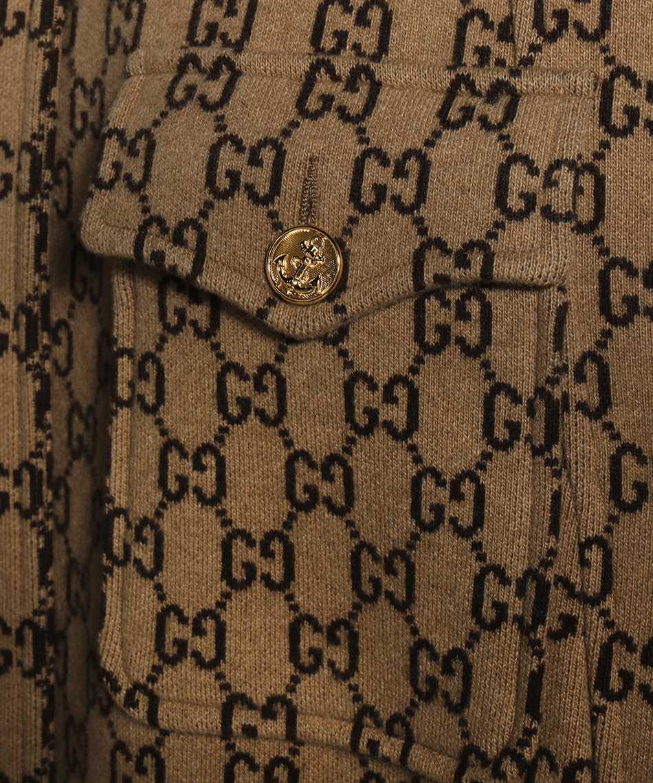 Gucci 610488 XKA5U GG WOOL Cappotto 3