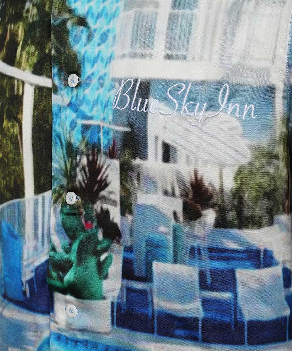 Blu sky inn BS2101SH003 POOL Hemd 3