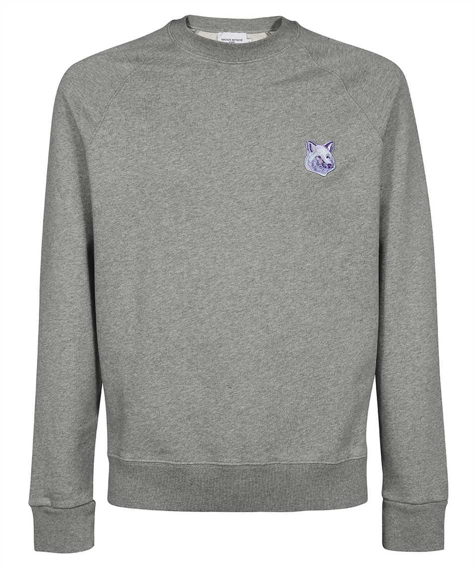 Maison Kitsune HM00334KM0001 COOL TONE FOX HEAD PATCH CLEAN Sweatshirt 1