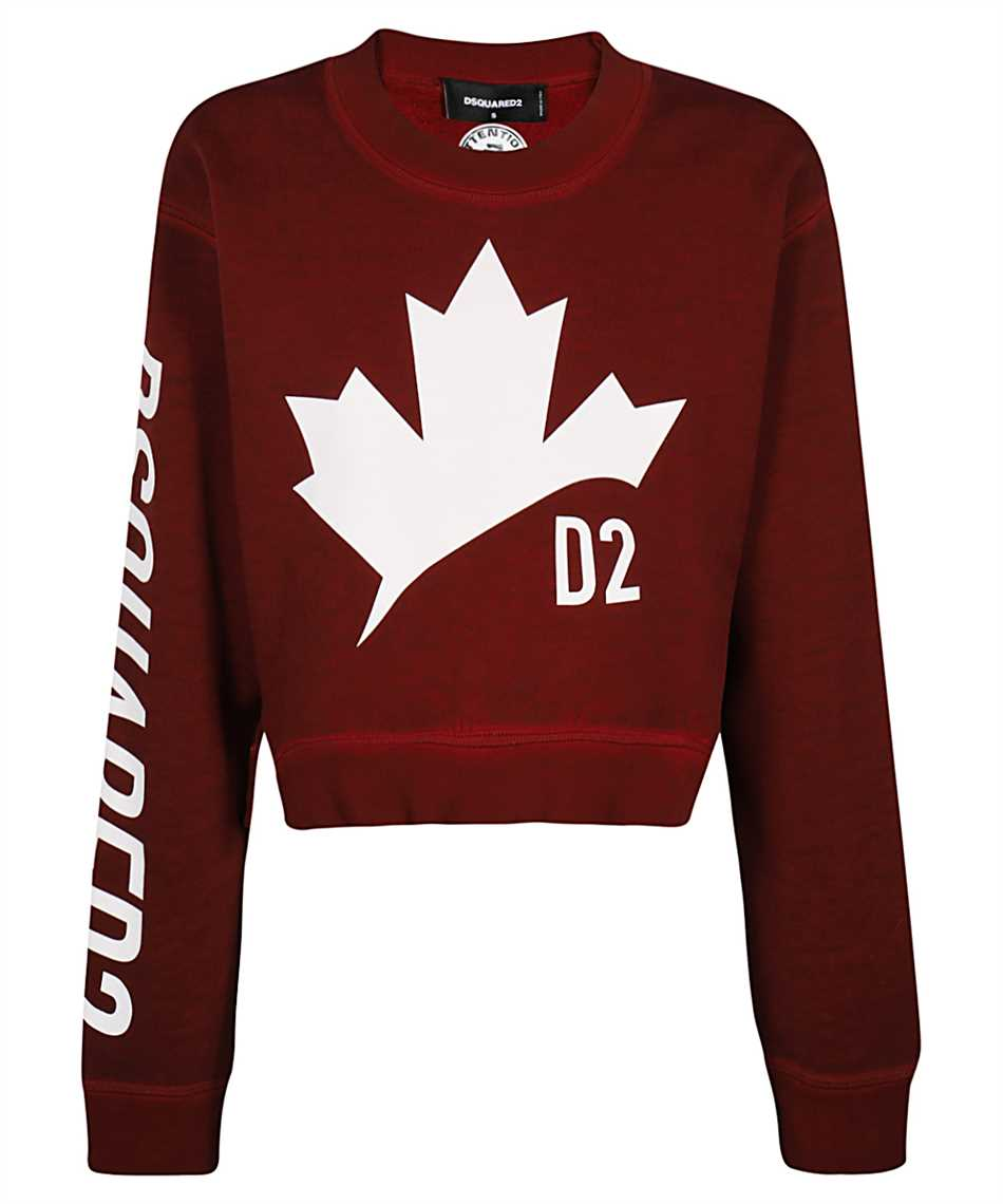Dsquared2 S75GU0332 S25030 D2 LEAF ASYMMETRIC Sweatshirt 1
