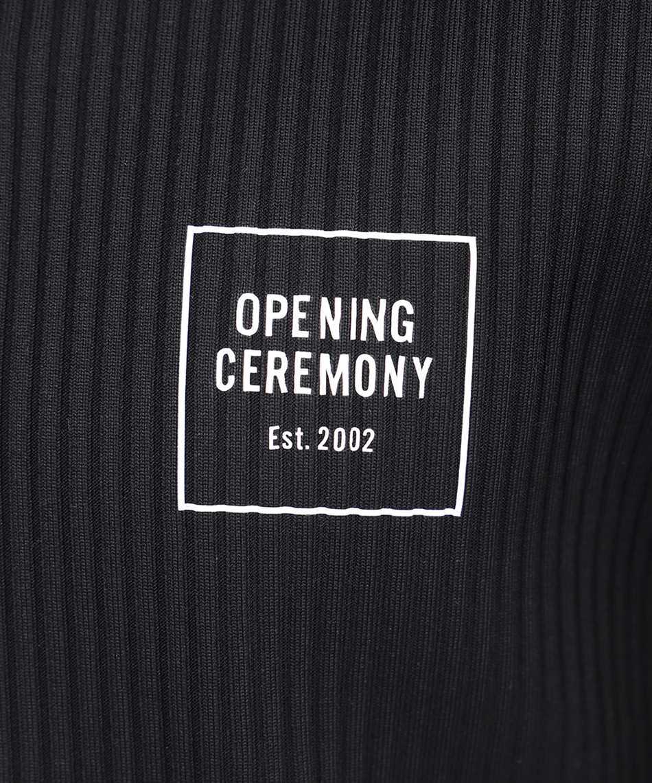 Opening Ceremony YMAA001S21JER001 BOX LOGO RIB REGULAR T-Shirt 3