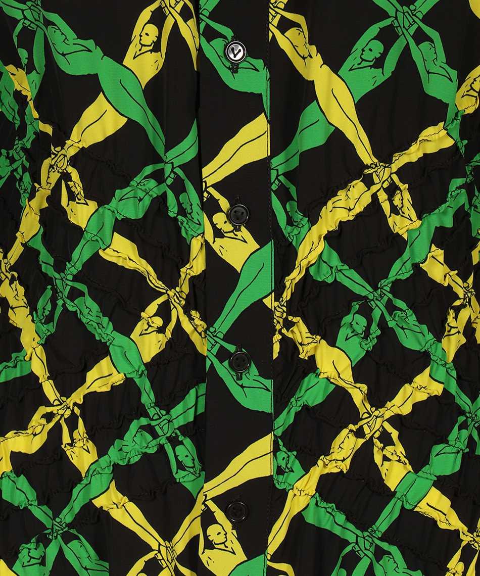 Bottega Veneta 651741 V0G60 FANTASIA PRINT Dress 3