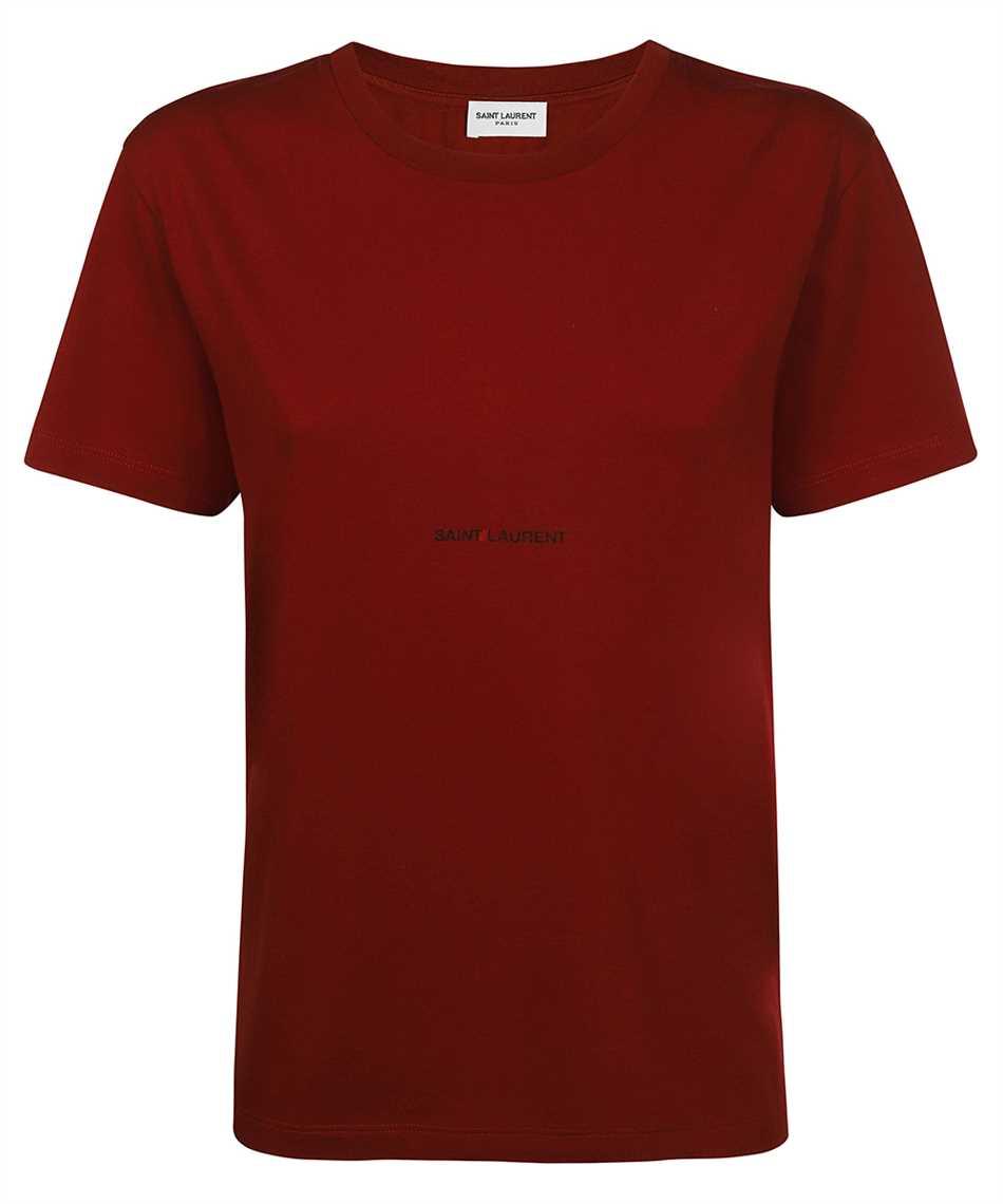 Saint Laurent 660774 YBYL2 LOGO T-Shirt 1