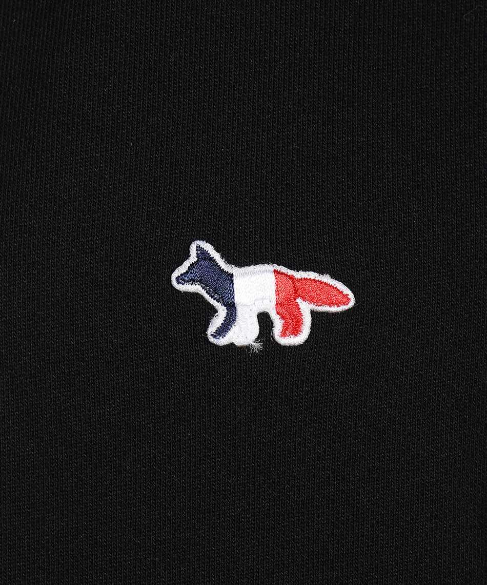 Maison Kitsune AU00307KM0001 TRICOLOR FOX PATCH CLASSIC Felpa 3