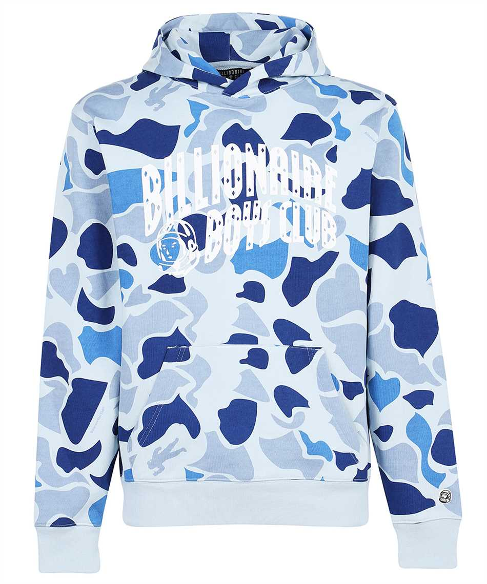 Billionaire Boys Club B21226 CAMO ARCH LOGO POPOVER Kapuzen-Sweatshirt 1