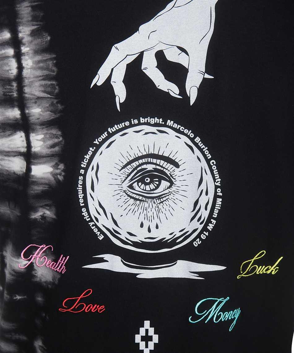 Marcelo Burlon CMAA018F19001017 SPHERE TIE-DYE T-shirt 3