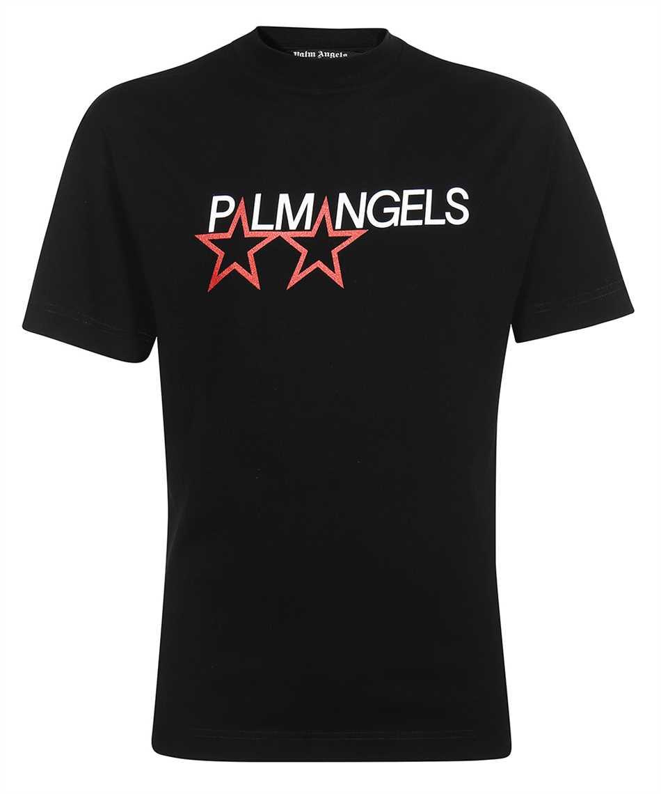 Palm Angels PMAA001F21JER014 RACING STAR T-Shirt 1