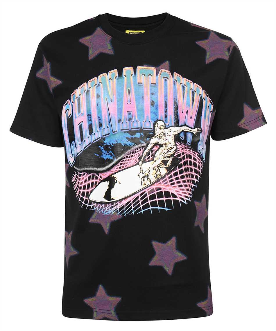 Chinatown Market 1990452 RIDE THE WAVE GLITCH T-shirt 1