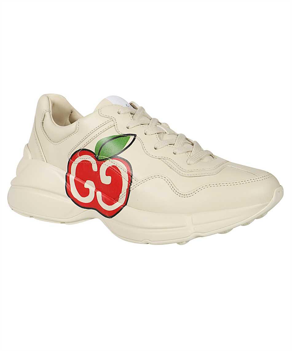 Gucci 609343 DRW00 RHYTON GG APPLE Sneakers 2