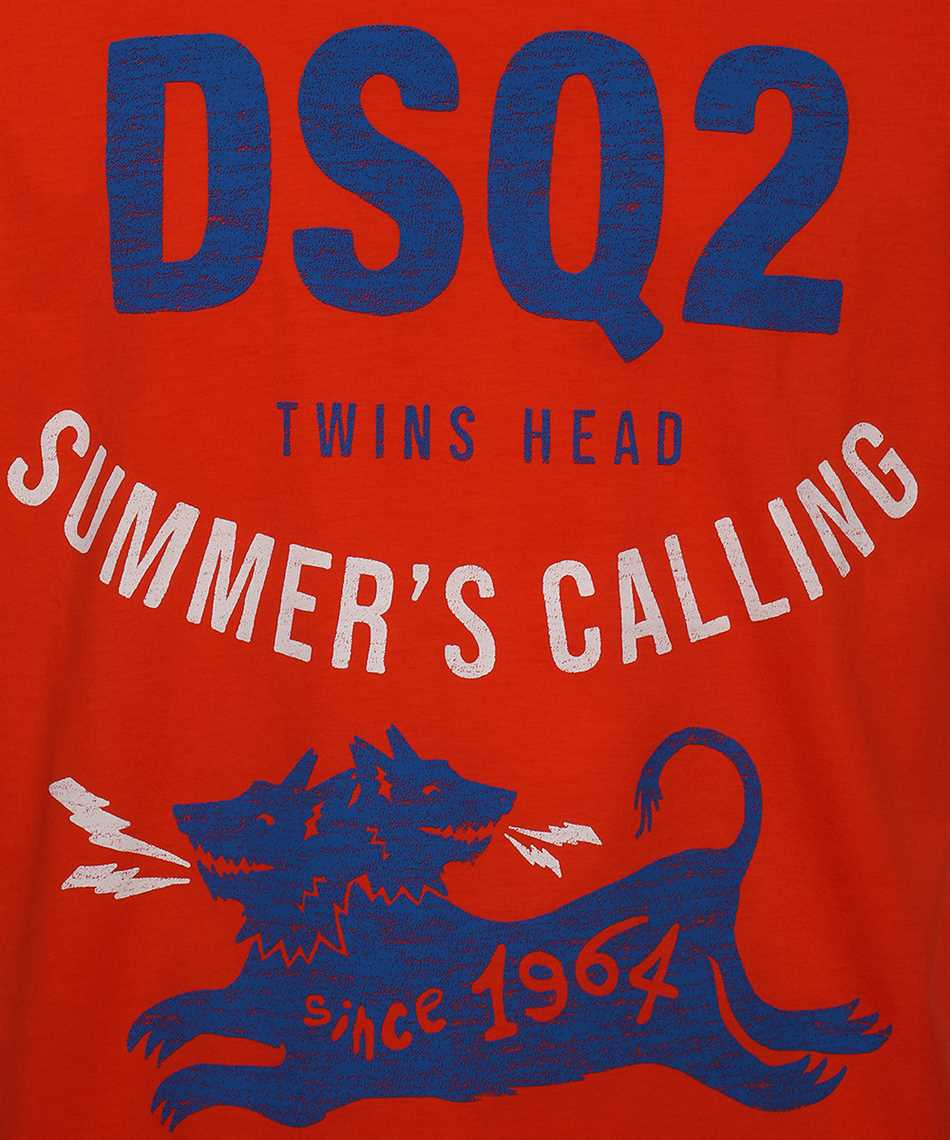 Dsquared2 S71GD1052 S22427 SUMMER CALLING T-shirt 3