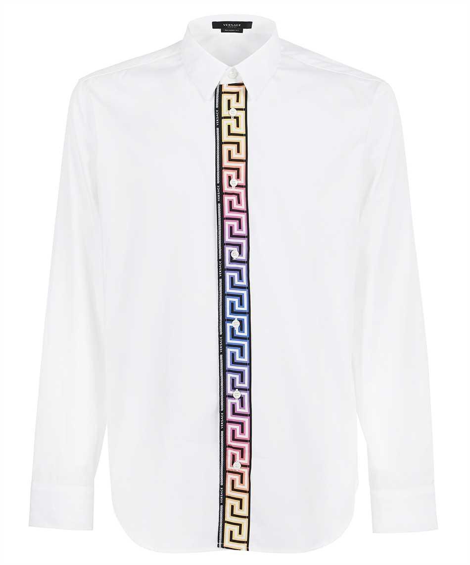 Versace 1000861 1A00623 GRECA ACCENT COTTON POPLIN Camicia 1