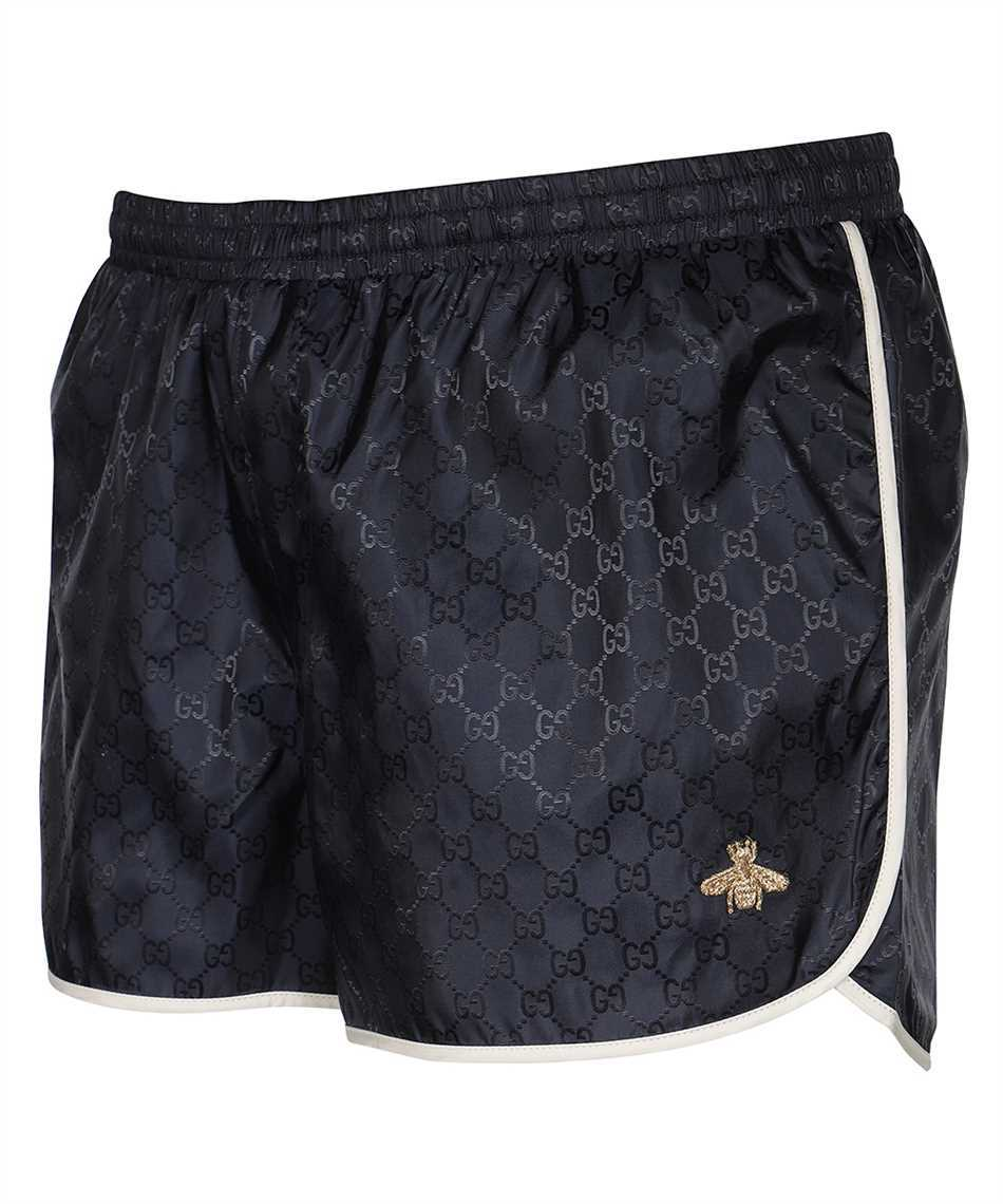 Gucci 410571 XR898 GG NYLON WITH BEE Badeshorts 3