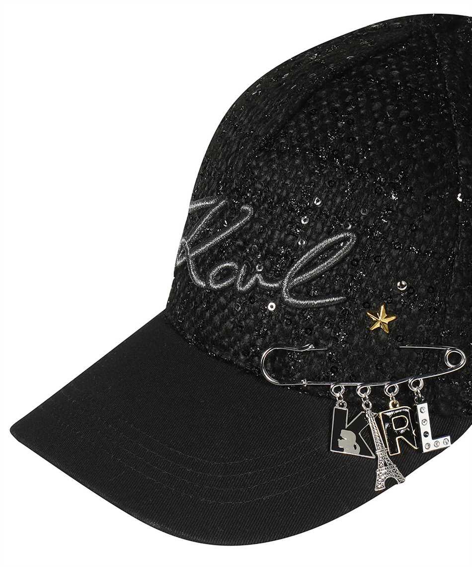 Karl Lagerfeld 216W3403 K/STUDIO PIN Cappello 3