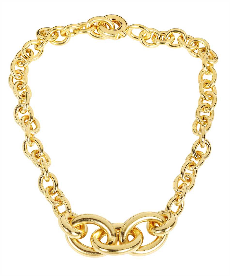 Saint Laurent 669554 Y1500 GRADUATED CHAIN Halskette 2