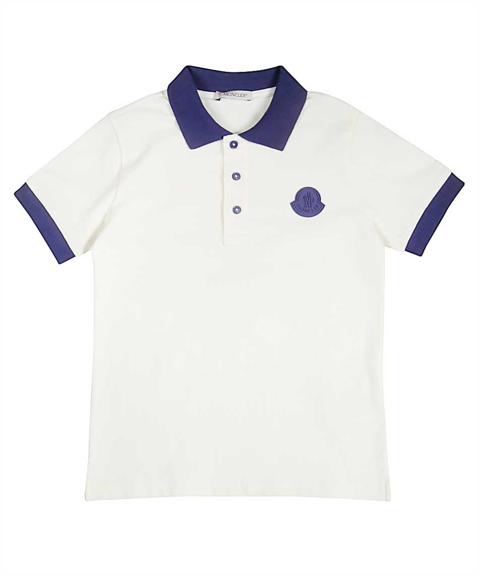 new products 8aa1d 65ee7 Moncler 83122.05 8496F Polo Weiss