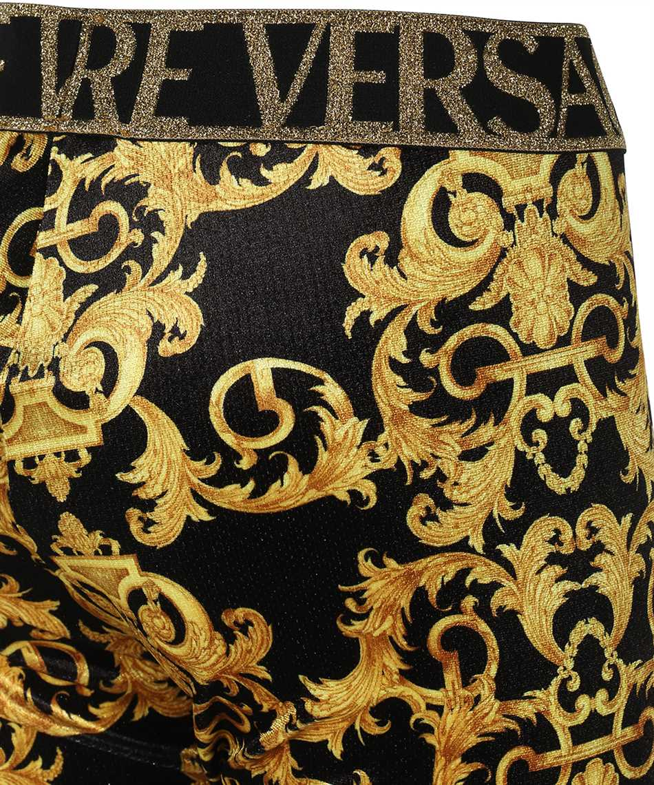 Versace Jeans Couture D5HWA101 S0034 VELVET BAROQE PRINT Trousers 3