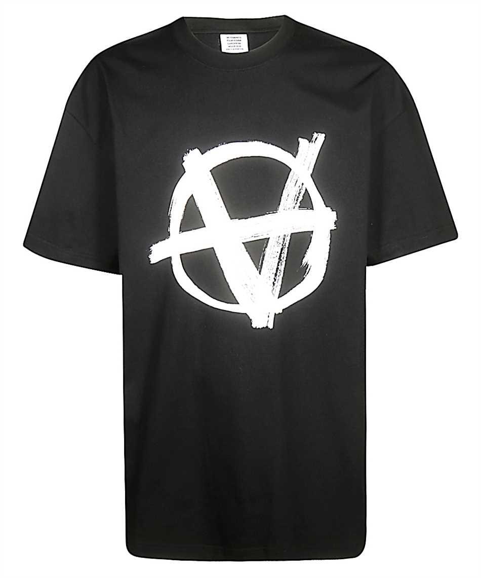 Vetements MAH20TR117 ANARCHY T-shirt 1