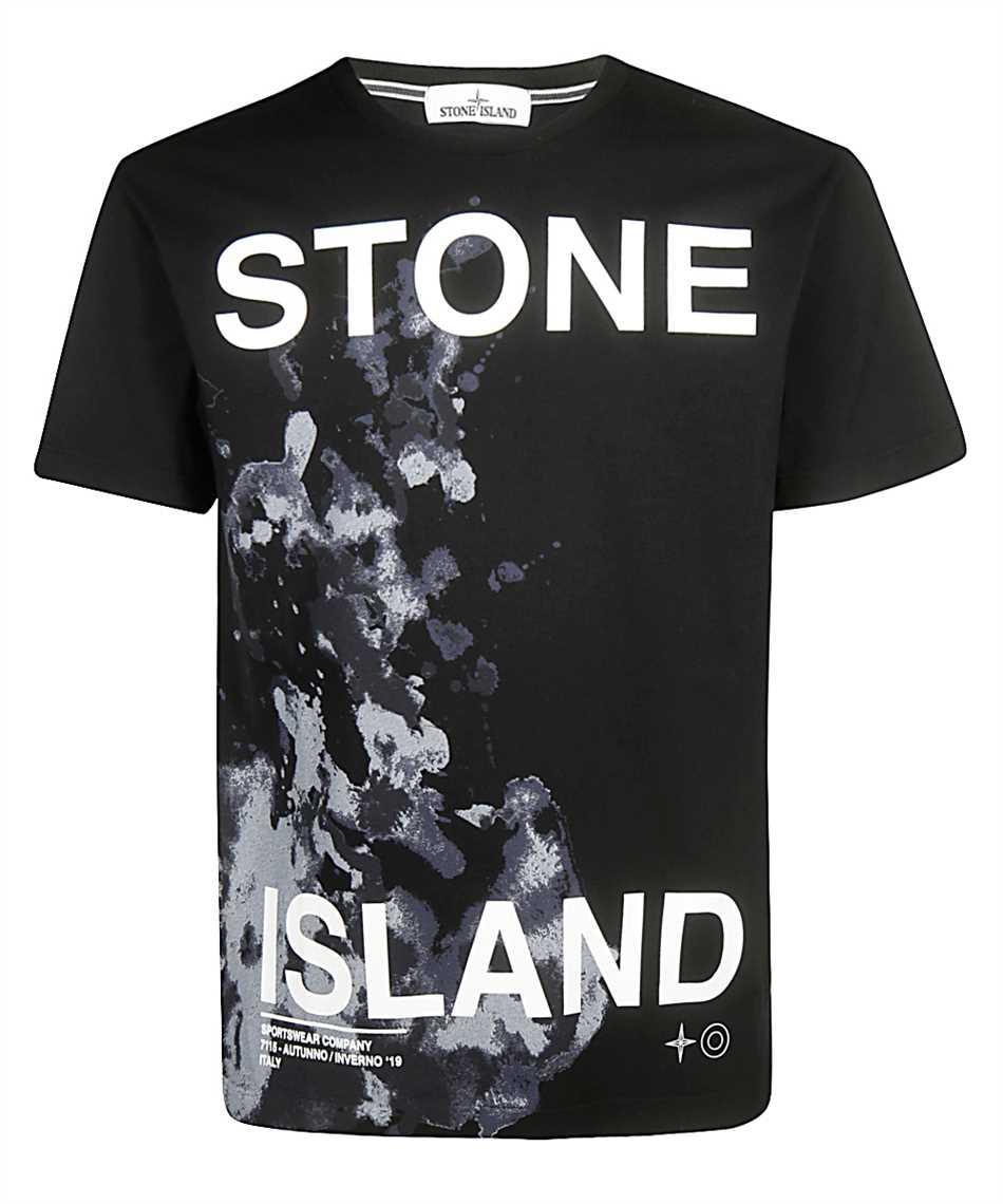 official images autumn shoes best place Stone Island 2NS86 T-shirt Black