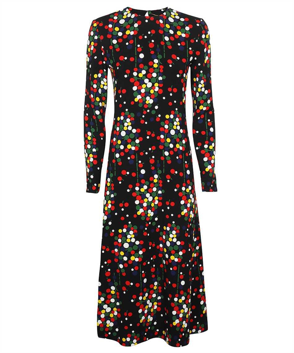 Saint Laurent 663410 Y5D23 CONFETTI-PRINT SABLÉ Dress 1