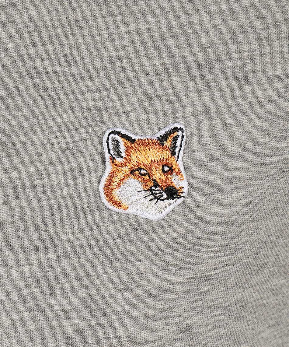 Maison Kitsune AM00103KJ0008 FOX HEAD PATCH CLASSIC T-shirt 3