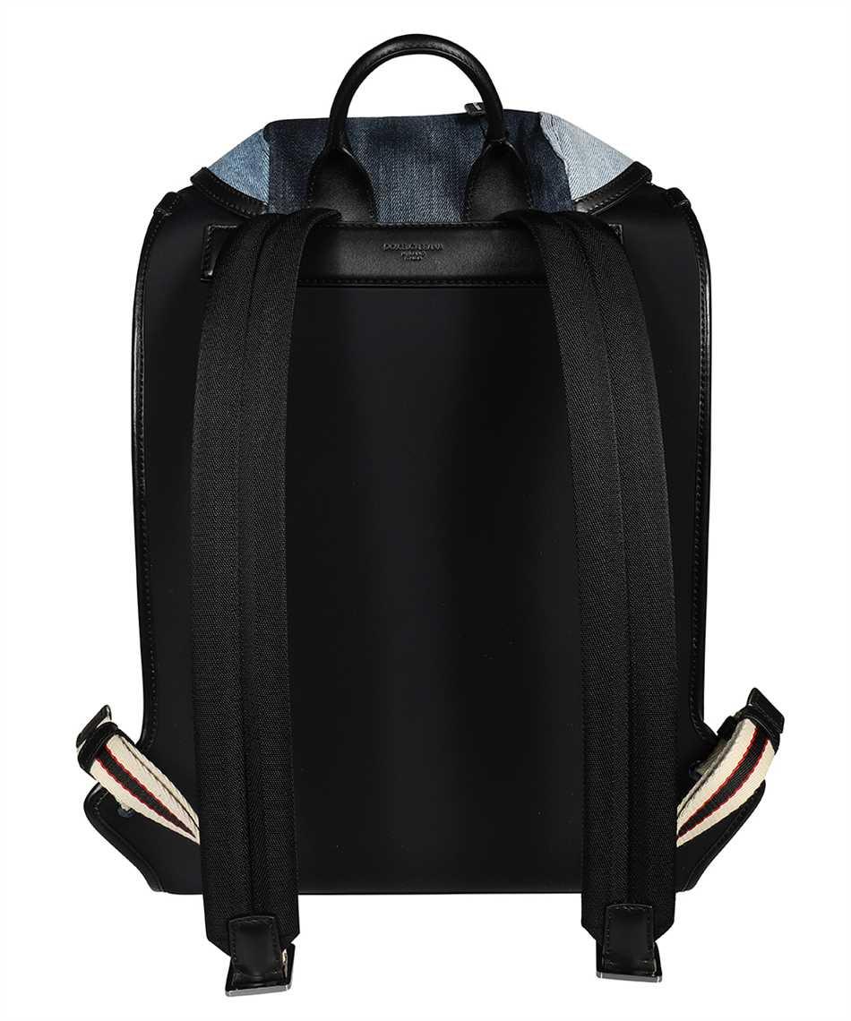 Dolce & Gabbana BM1799 AW347 PATCHWORK DENIM EDGE Zaino 2
