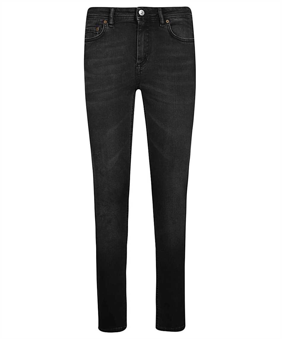 Acne Climb Used Blk Jeans 1