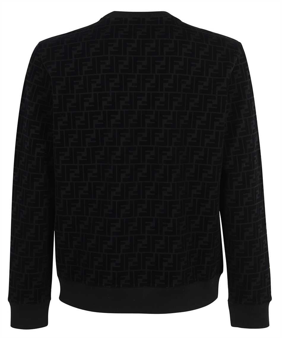 Fendi FY1077 AFRJ FF PIQUET PRINT Sweatshirt 2