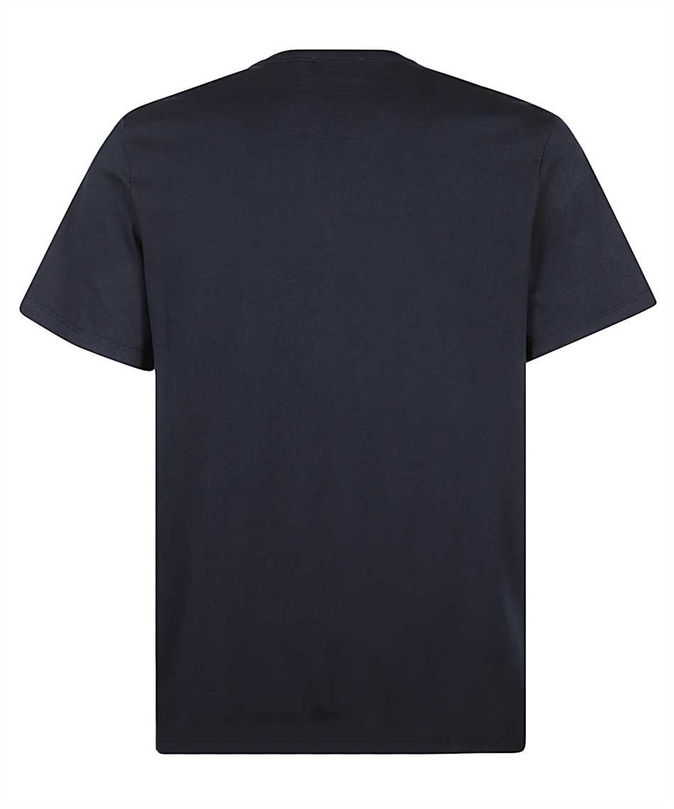 Maison Kitsune GM00118KJ0008 GREY FOX HEAD PATCH CLASSIC T-Shirt 2