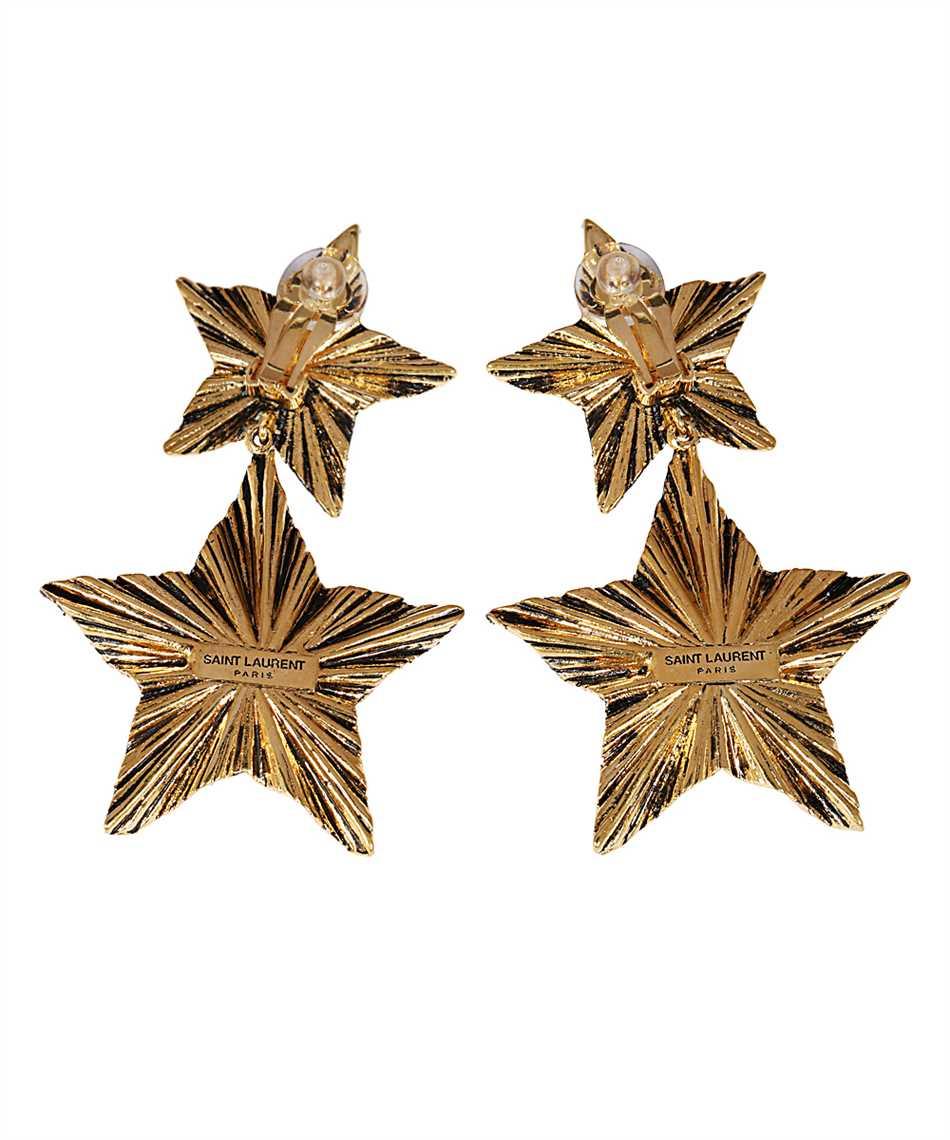 Saint Laurent 633473 Y1500 2 STARS Orecchini 2