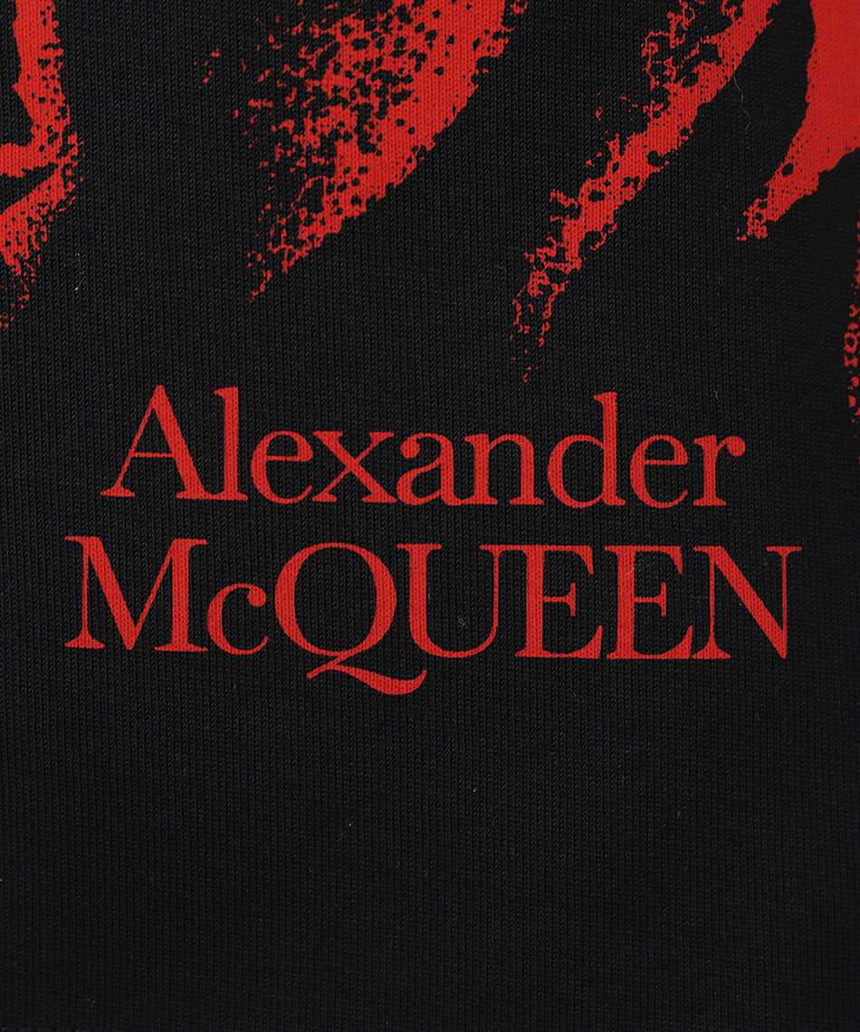 Alexander McQueen 650424 QQZ66 FLORAL SKULL T-Shirt 3