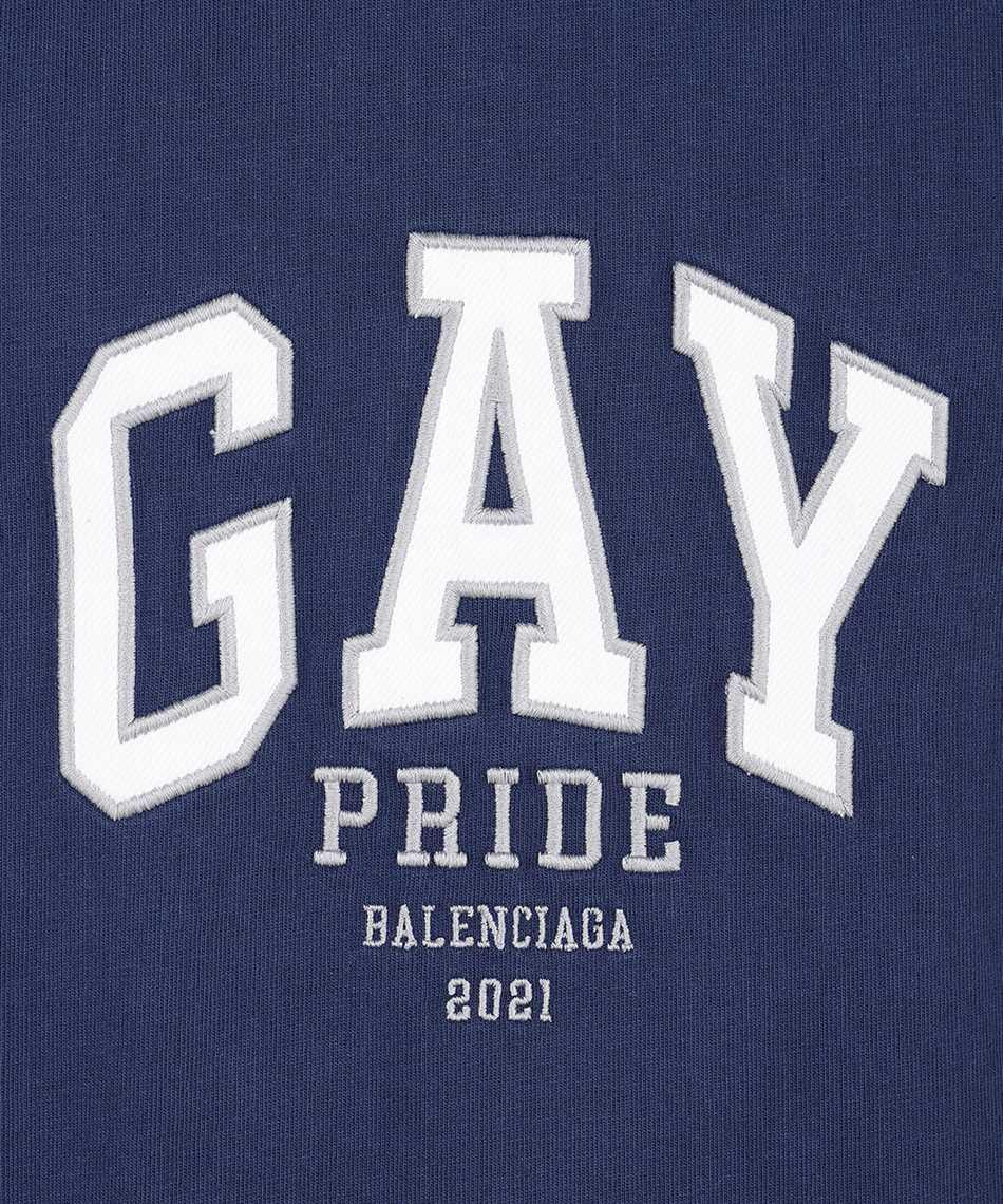 Balenciaga 651795 TLV93 PRIDE LOGO T-shirt 3
