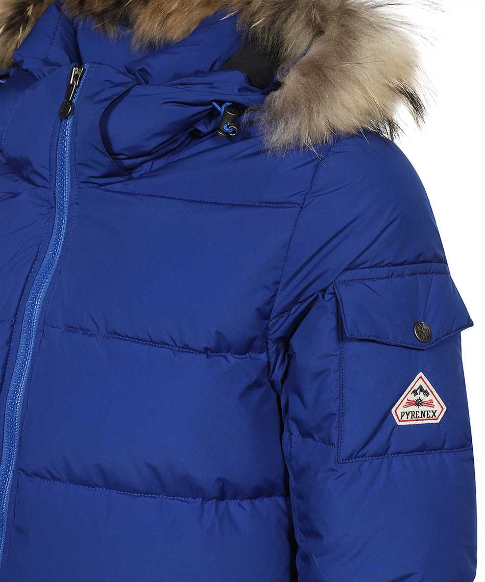 PYRENEX HMQ004 AUTHENTIC MINI RIPSTOP FUR Jacket 3