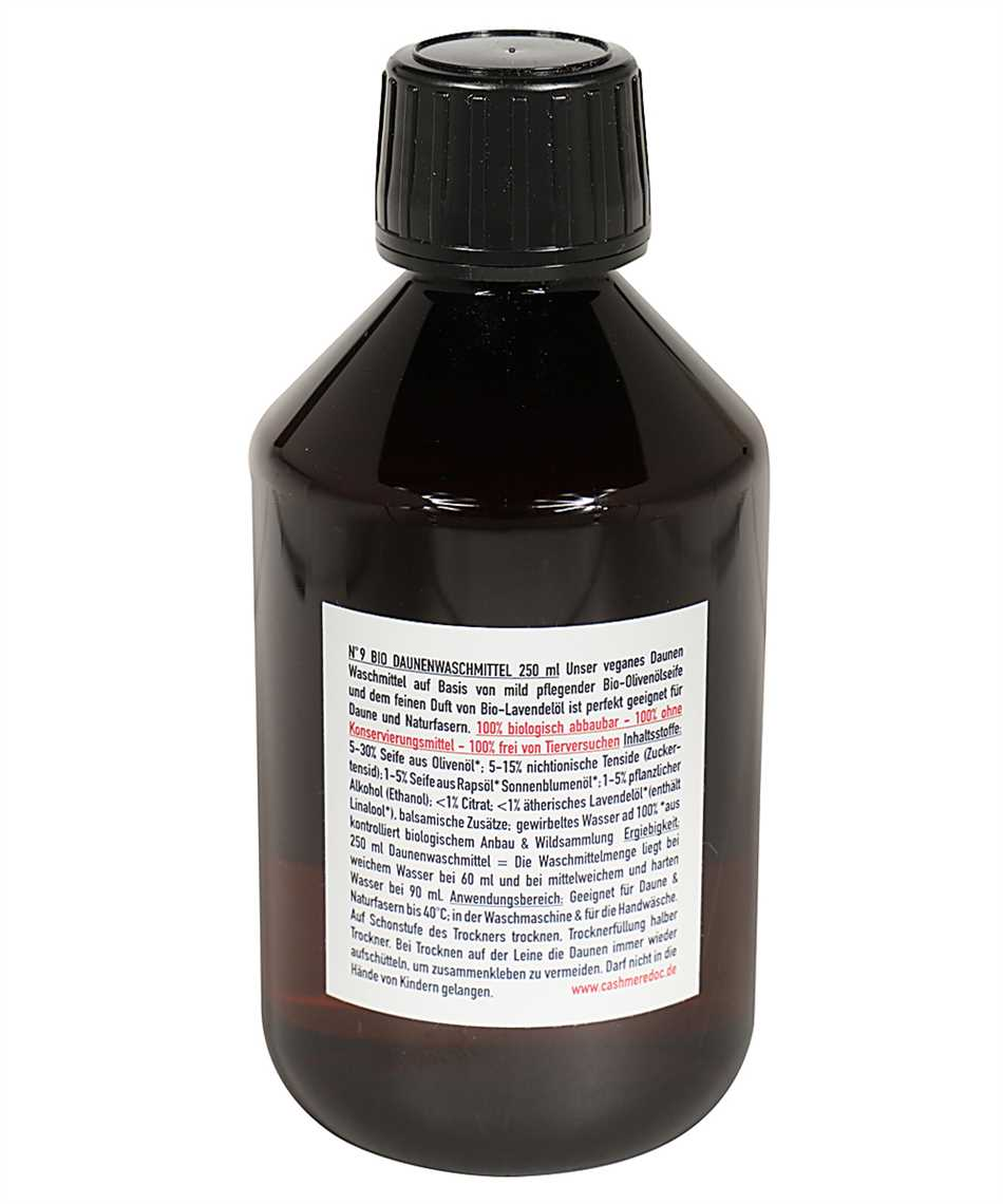 Cashmere Doc N.9 DOWN FEATHER CARE Detergent 2