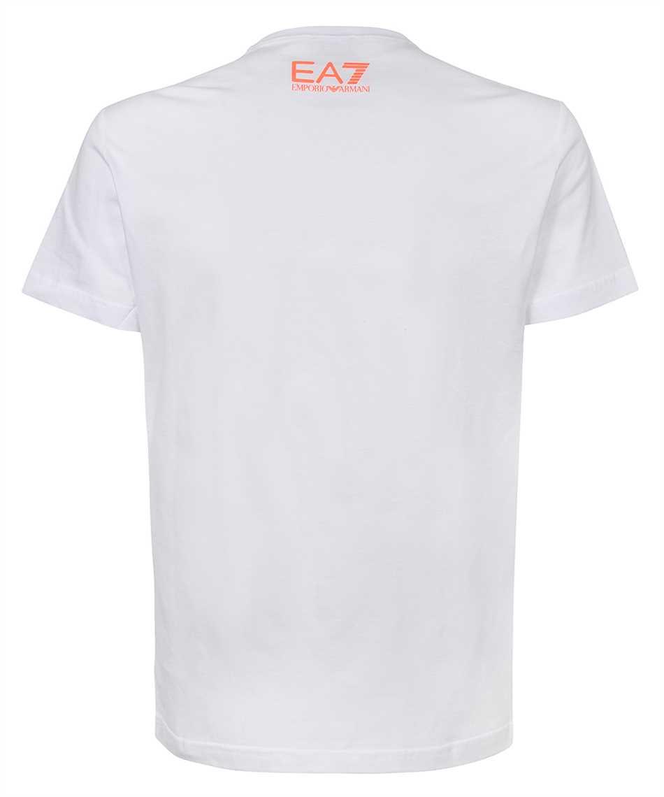 EA7 3KPT22 PJ6EZ EAGLE AND LOGO T-shirt 2