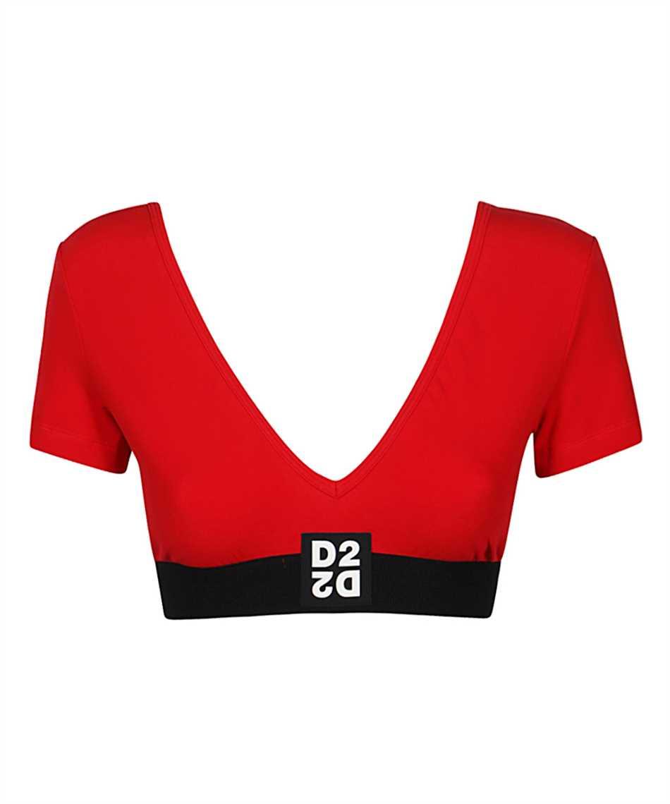 Dsquared2 D8D872980 CROPPED T-Shirt 1