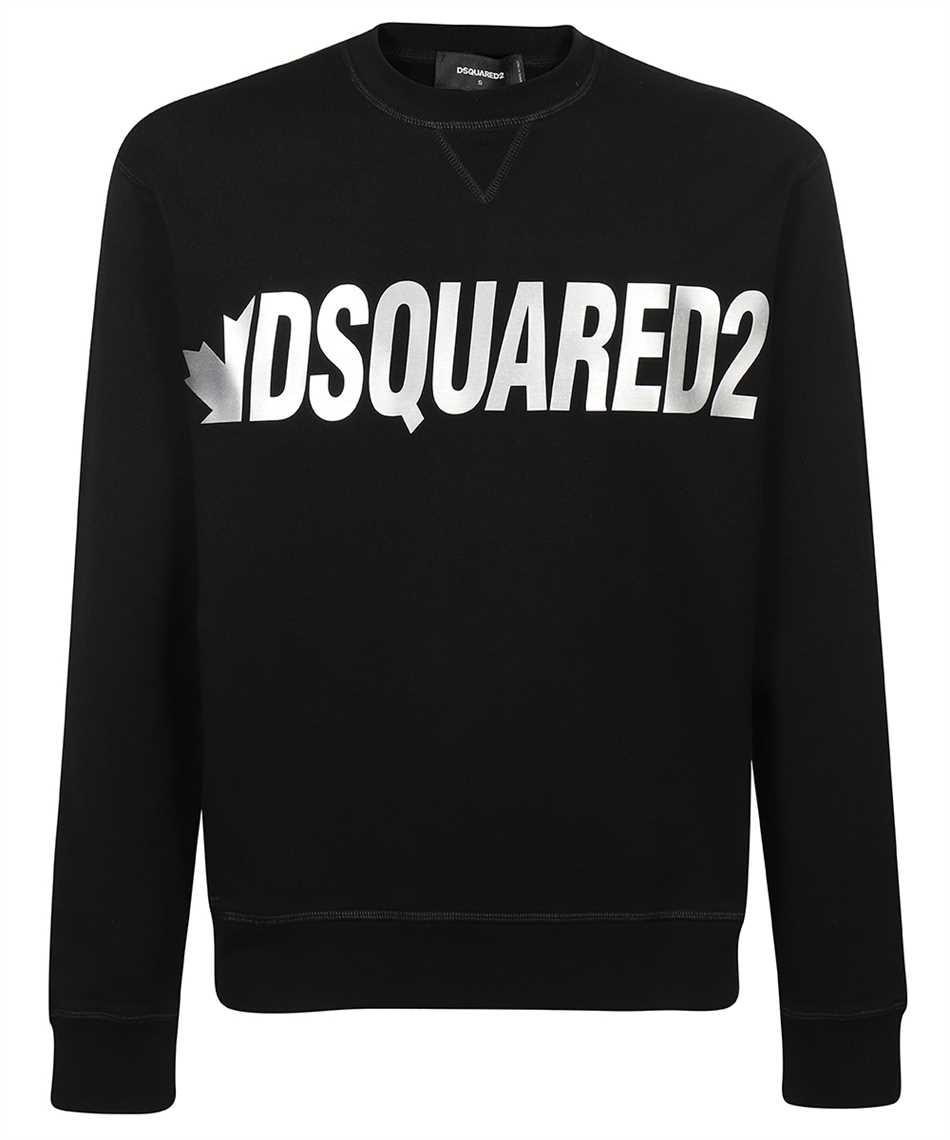 Dsquared2 S71GU0432 S25042 METAL LEAF CREWNECK Sweatshirt 1