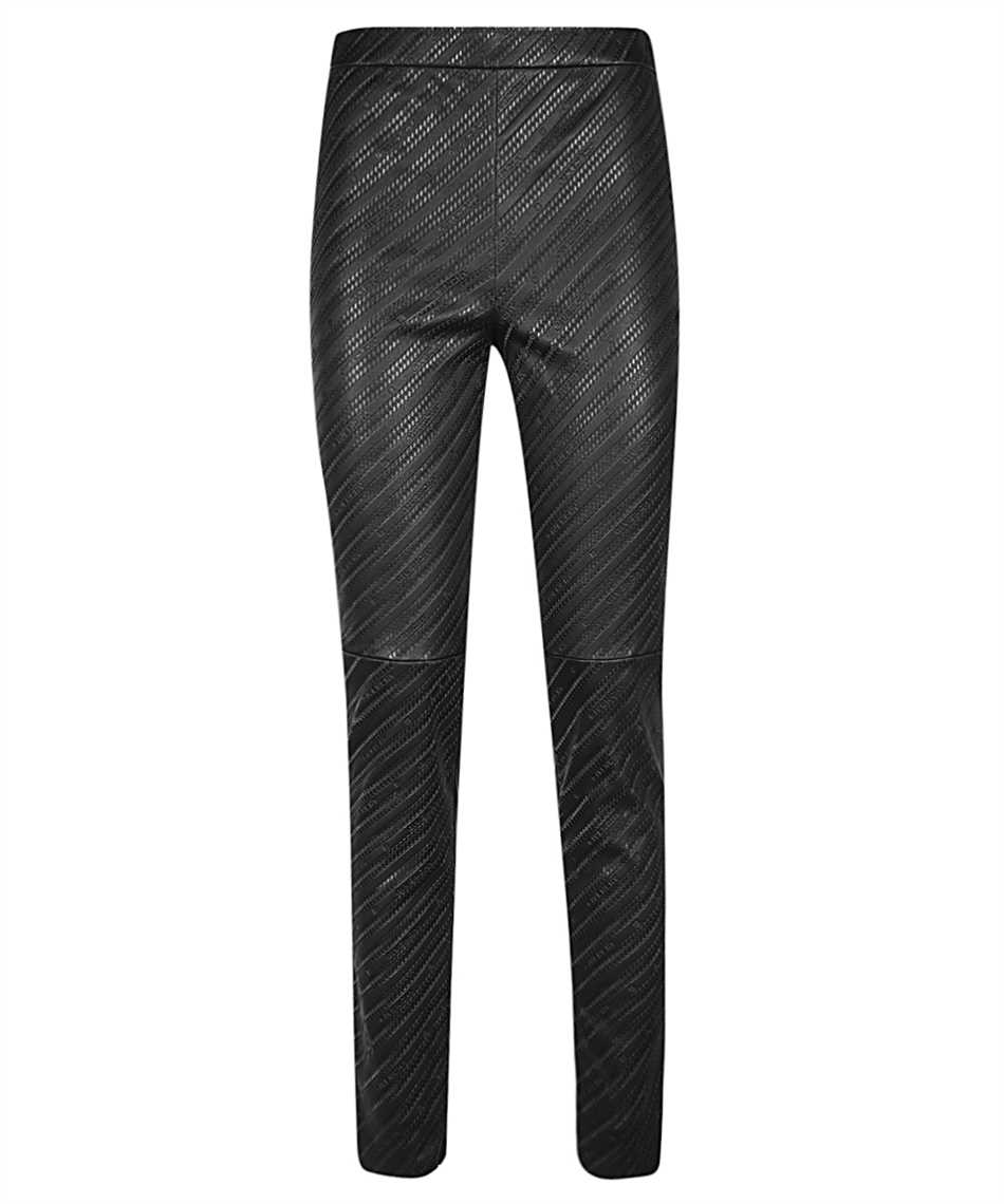 Givenchy BW50J960U4 TEXTURED LOGO STRIPE Trousers 1