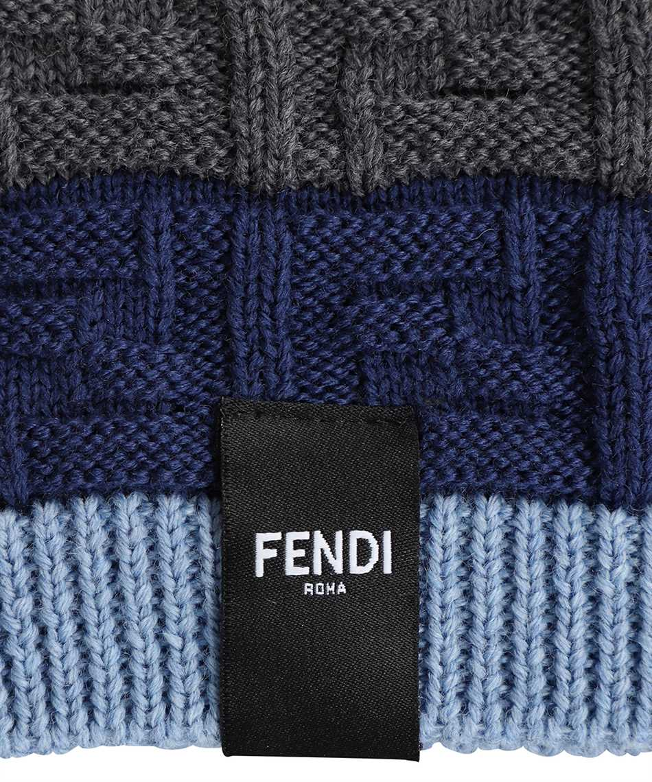 Fendi FXQ107 AFH2 LOOSE FF Beanie 3