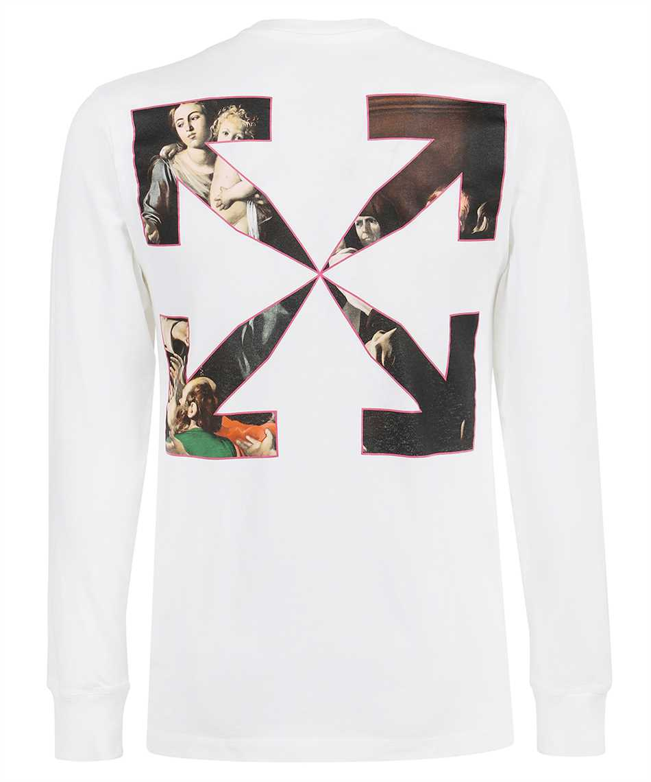 Off-White OMAB001S21JER009 SPRAYED CARAVAGGIO L/S T-shirt 2